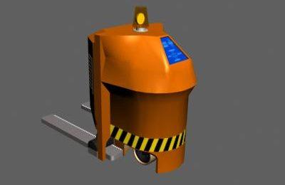 Robotic forklift concept