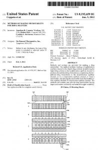 Patent Methods of making microtablets for drug delivery 8192659